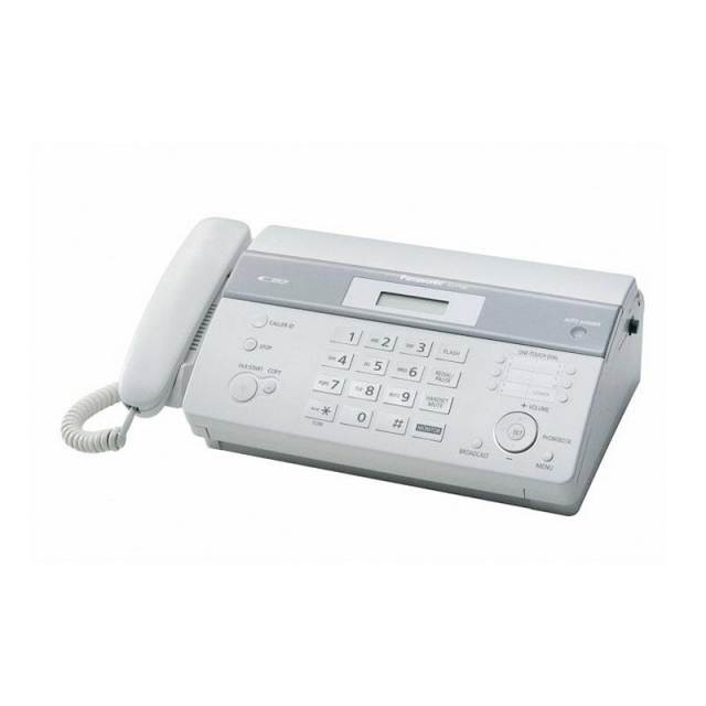 Mesin Fax PANASONIC Thermal Fax with Digital Answering Machine [KX-FT987CX]